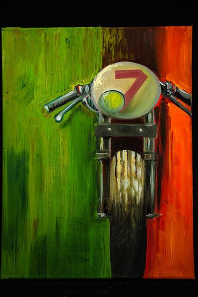 TLD Art on Display at 'Vroom - The Art of the Motorcycle' Exhibit