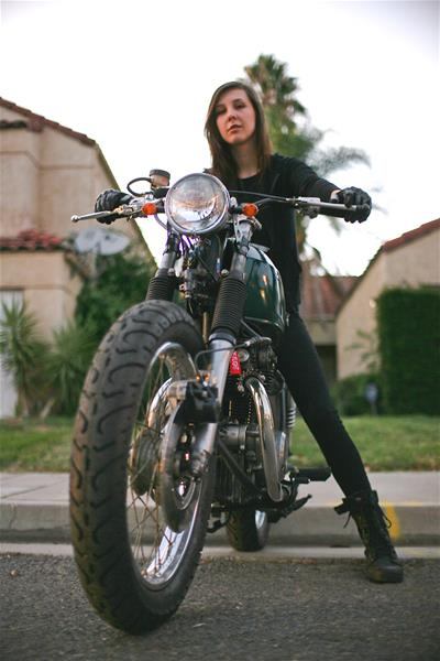 Jessica Van Dusen's 1968 Honda CB350