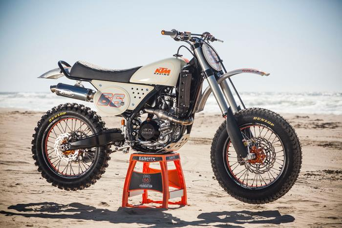 Kurt Caselli Foundation KTM 450
