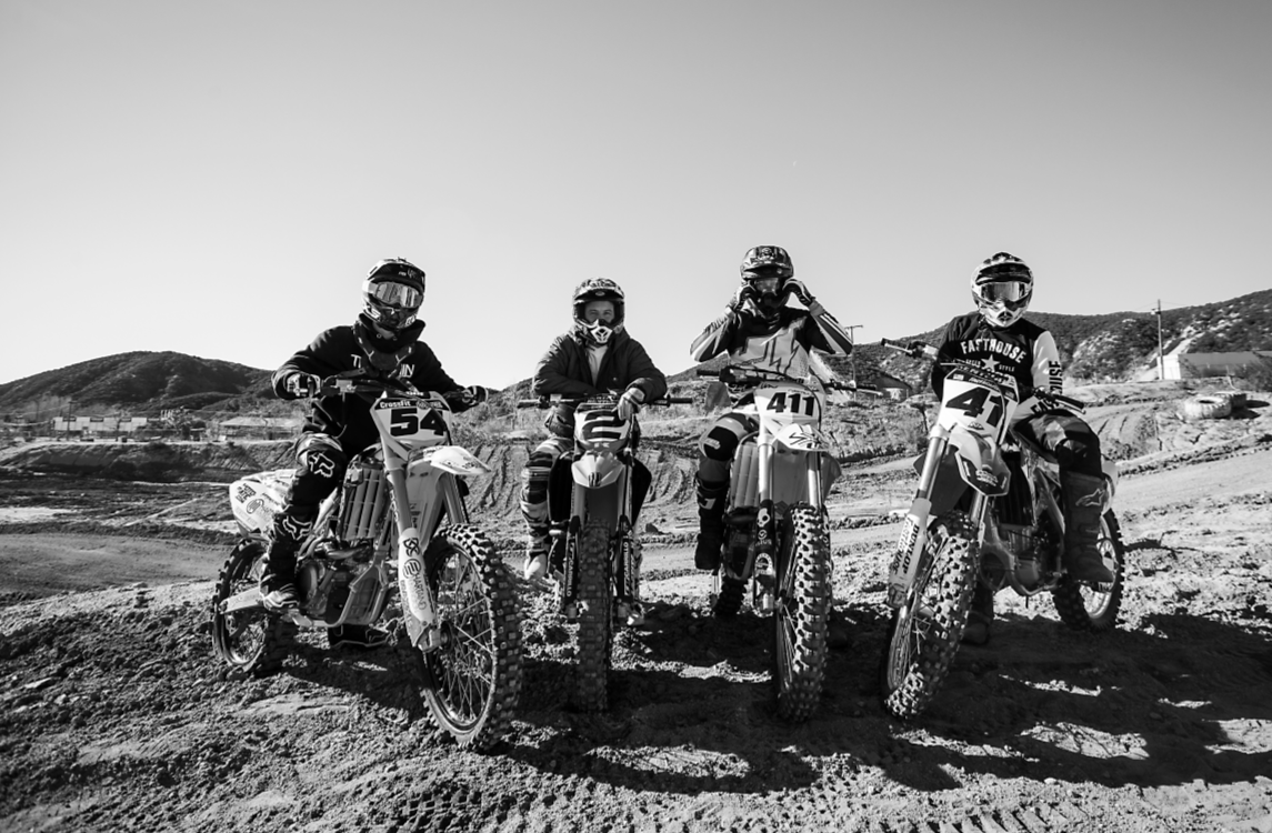 Lance Coury, Jeremy McGrath, Dave Castillo, Kenny Alexander