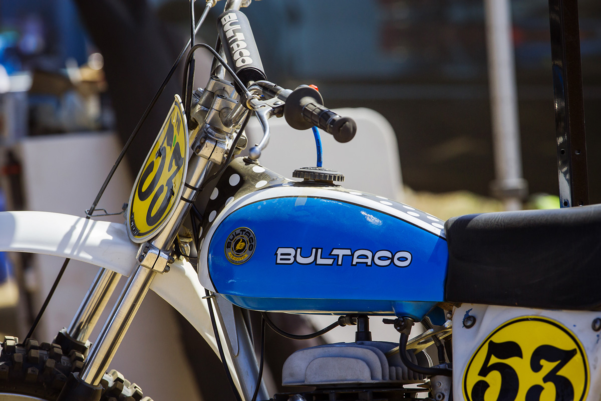 Some more vintage iron. Bultaco.