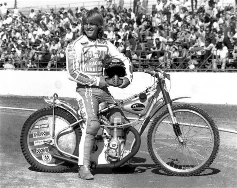 Ryan's dad Bruce won two World Speedway Championships in 1981 and 1982 and is a huge reason why Ryan began riding and racing.