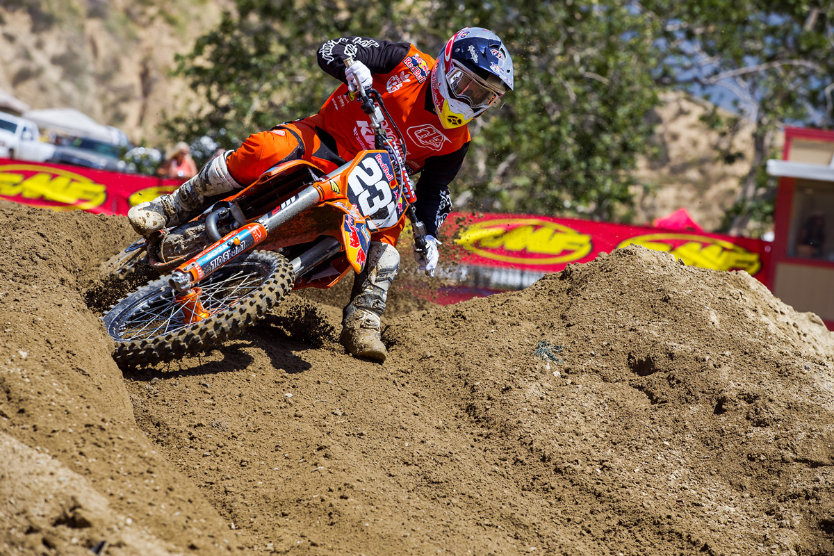 Justin Hoeft took home an emotional win in the 250 Pro Sport class, besting some very fast competition.