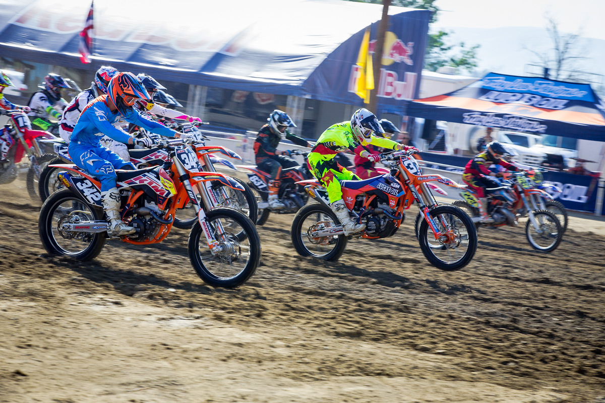 The top amateur racers in the country competed at the FMF California Classic.