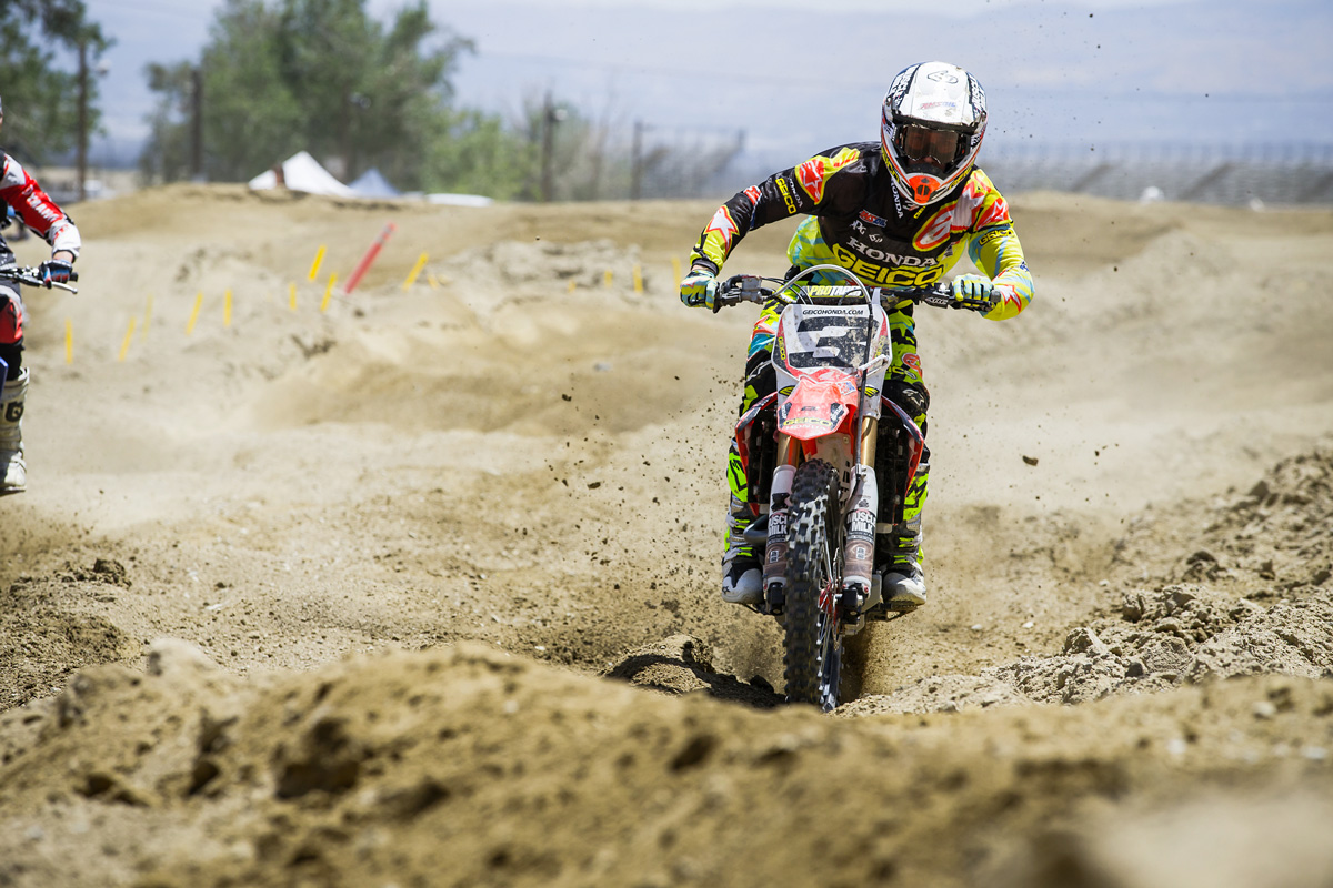 Eli Tomac was looking smooth, fast, and ready for the outdoors.