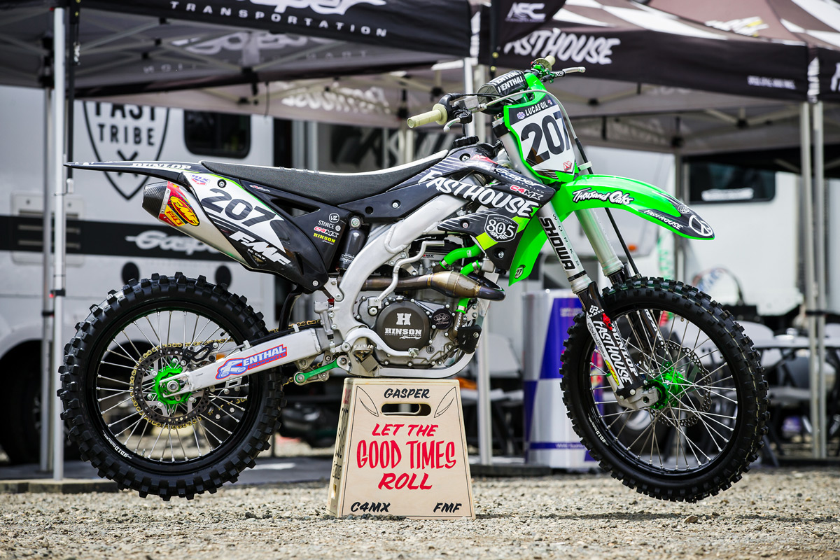 Sean Collier's KX450F | Privateer Weapon - Fasthouse