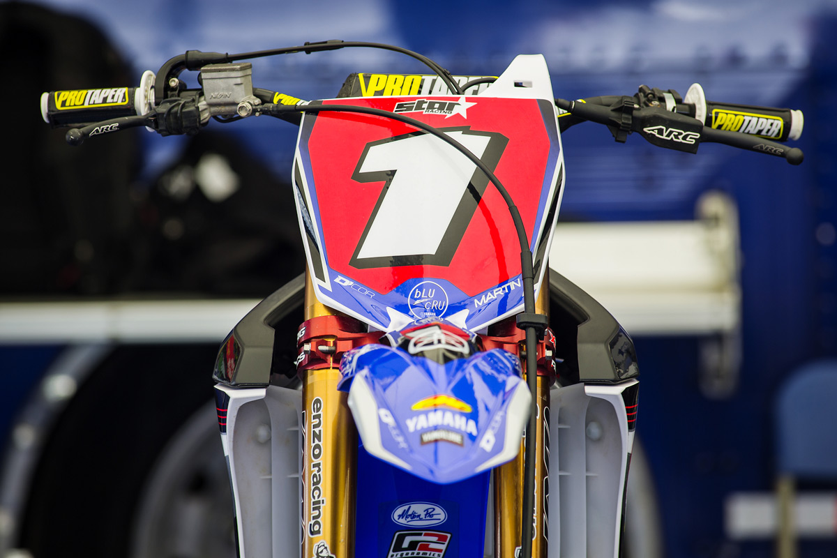 Jeremy Martin is off to a good start for his title defense. He took the 250 Class overall.