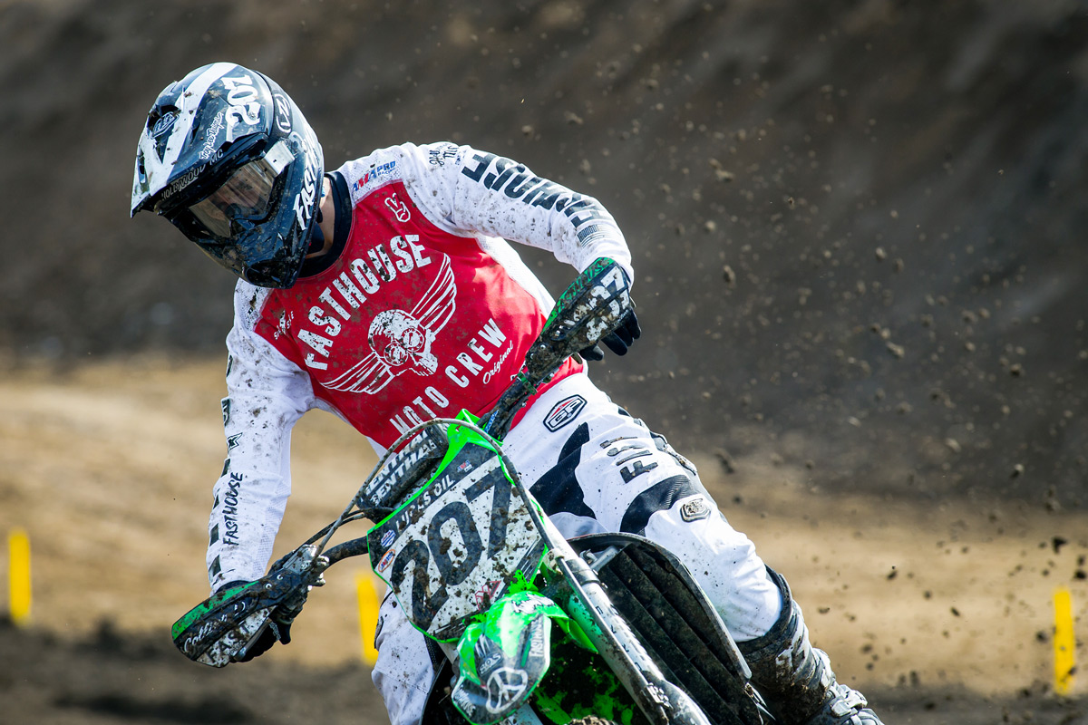 We debuted a few new jerseys on Sean at Hangtown.