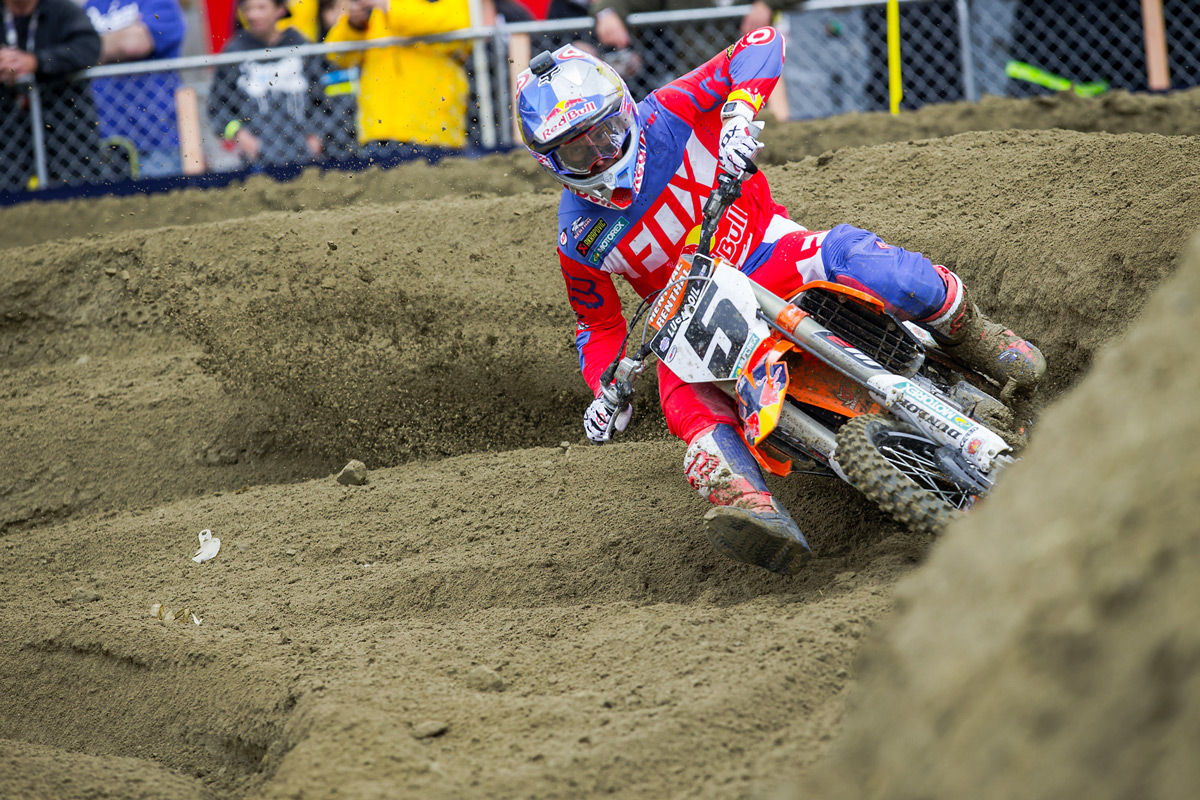 Red Bull KTM's Ryan Dungey finished third overall.