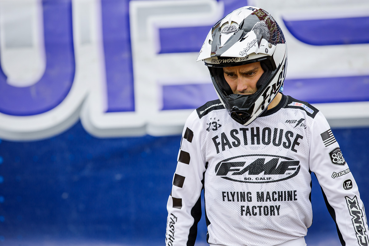 The FMF Fasthouse jersey will be available the first week of June.
