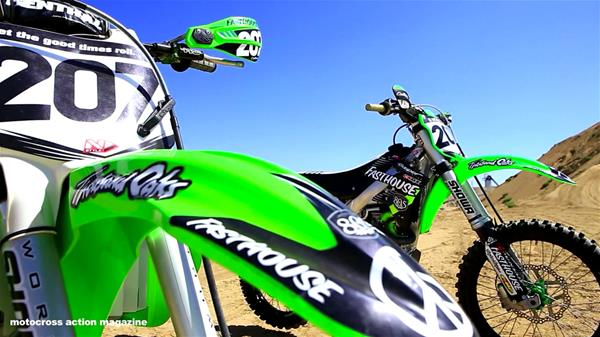 KX500 VS KX450F | Motocross Action Tests Sean Collier's Rides