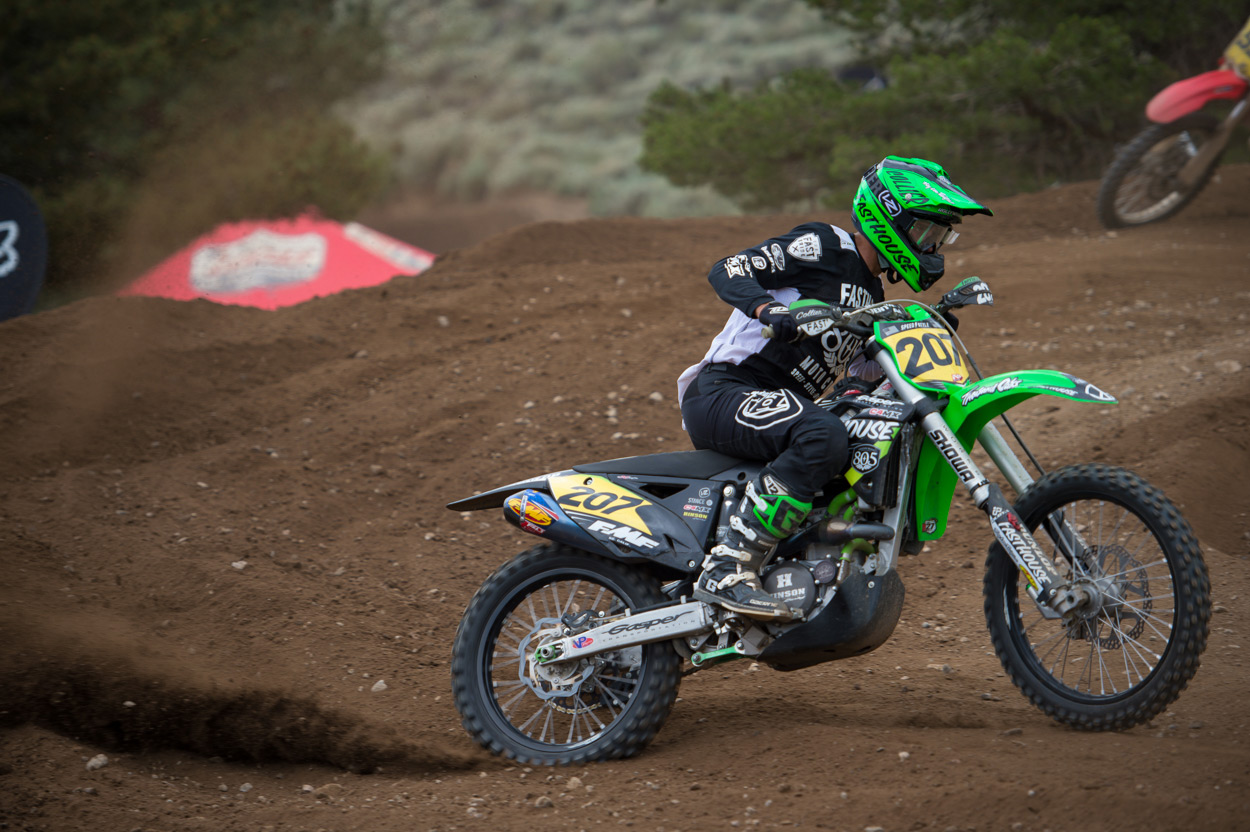 Collier aboard his Thousand Oaks/Gasper Racing/Fasthouse KX450F.