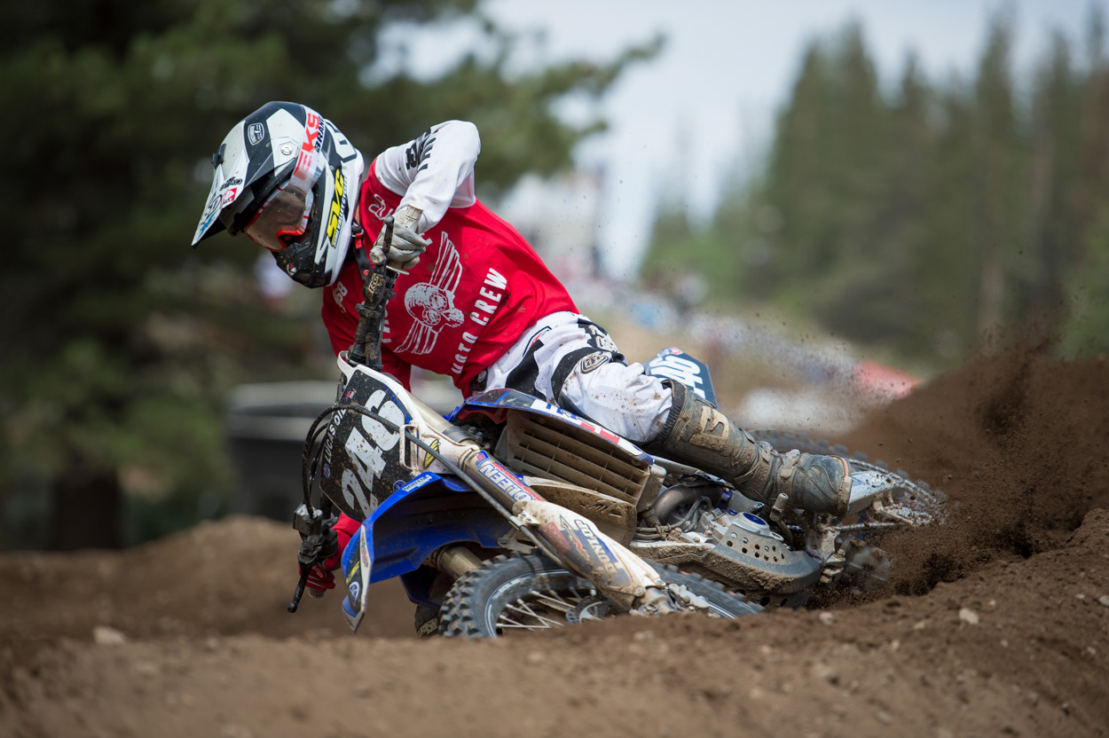 Willy Simons Jr. had an exceptional weekend of racing in the B Classes.