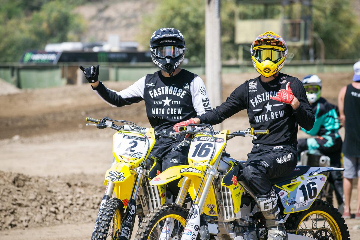 Castillo and Riley Harper.