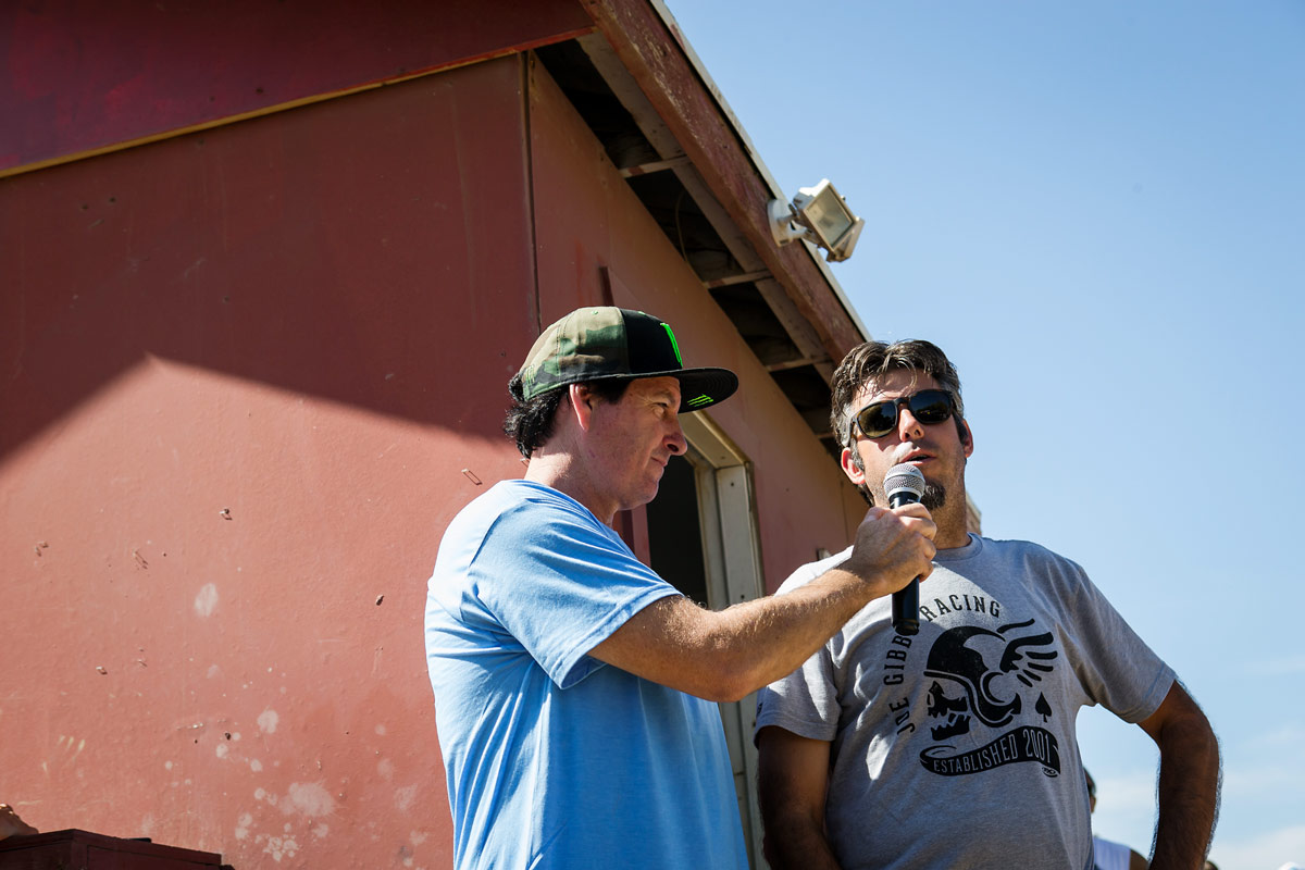 Jeremy Albrecht (right) is the founder of Surfercross.