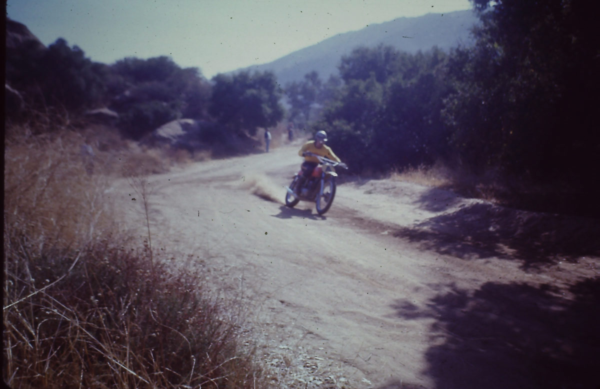 Roger DeCoster at Hopetown.