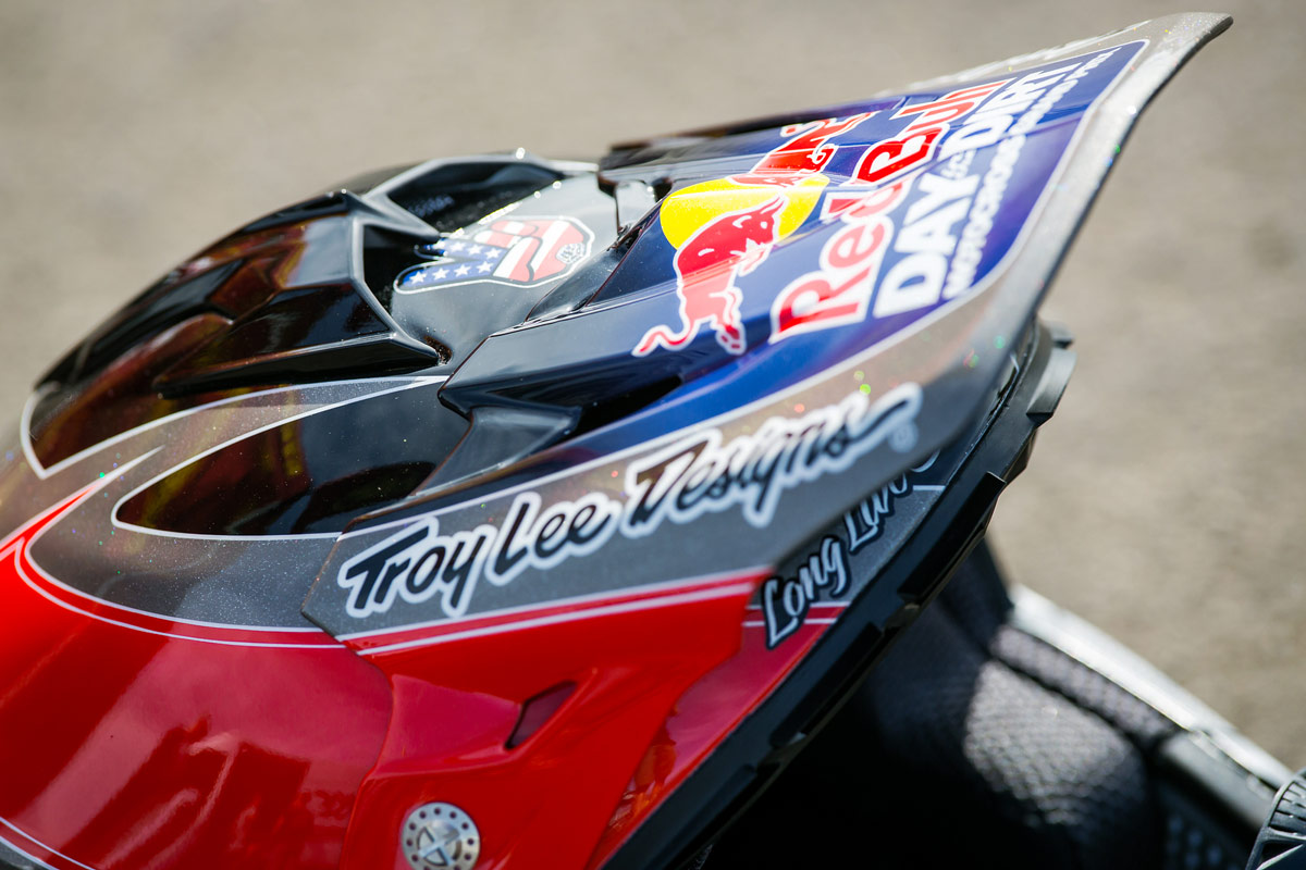 You'll have to wait and see if we unveil some 2015 Red Bull Day In The Dirt gear at Straight Rhythm.