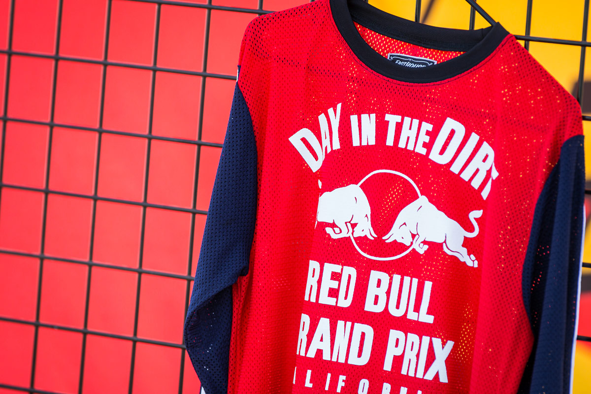 The 2014 Red Bull Day In The Dirt jersey was seen for the first time at last year's Straight Rhythm event.