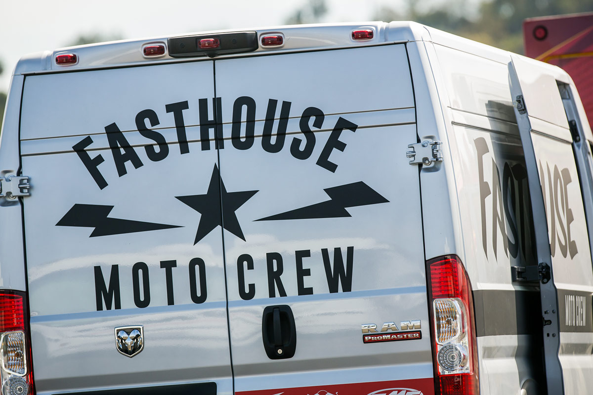 Fasthouse will be set up at this year's event.