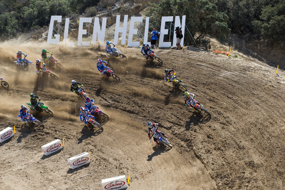 Taledega is always interesting at Glen Helen.