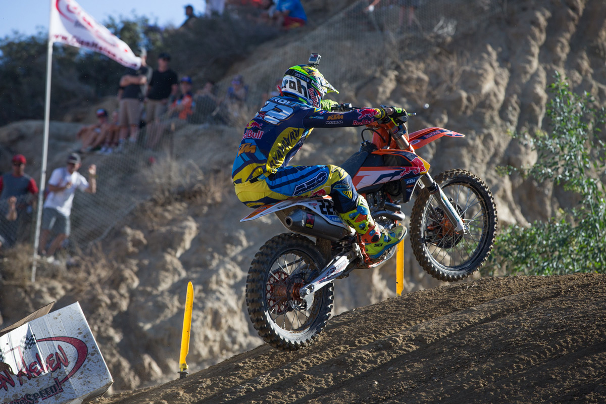 Multi-time World Champion Antonio Cairoli returned to action after sitting out most of the season due to injury.