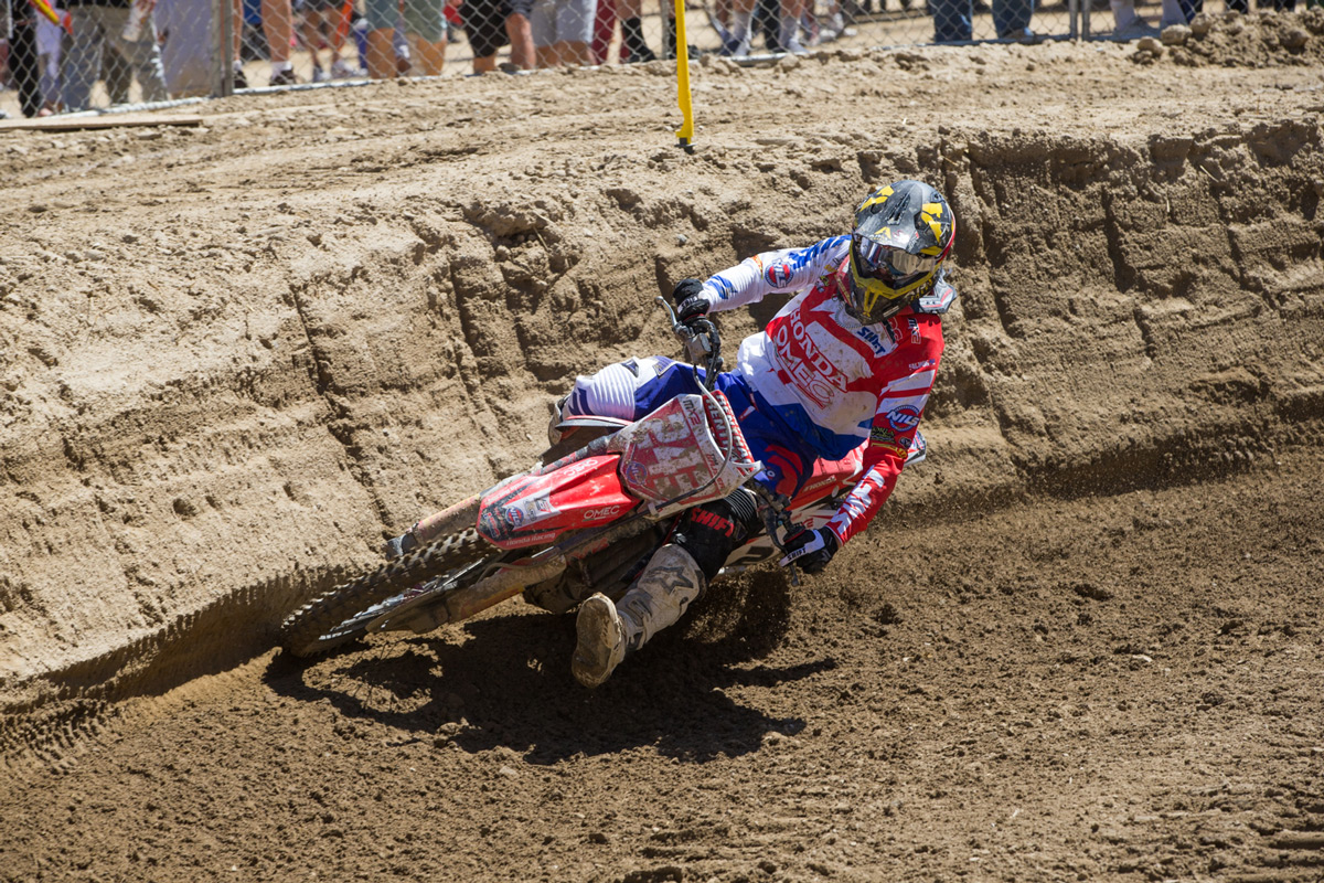 Honda-mounted Tim Gajser clinched his first World Championship at Glen Helen.