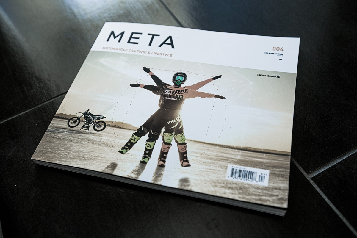 Do yourself a favor and pick up a copy of Meta Volume 004.