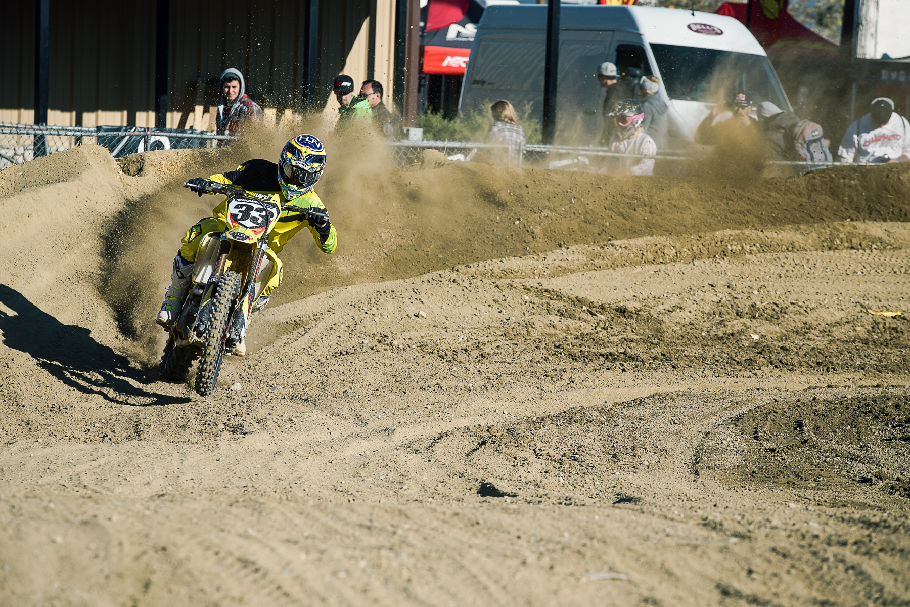Josh Grant ran away with the Pro/Am race on Saturday.