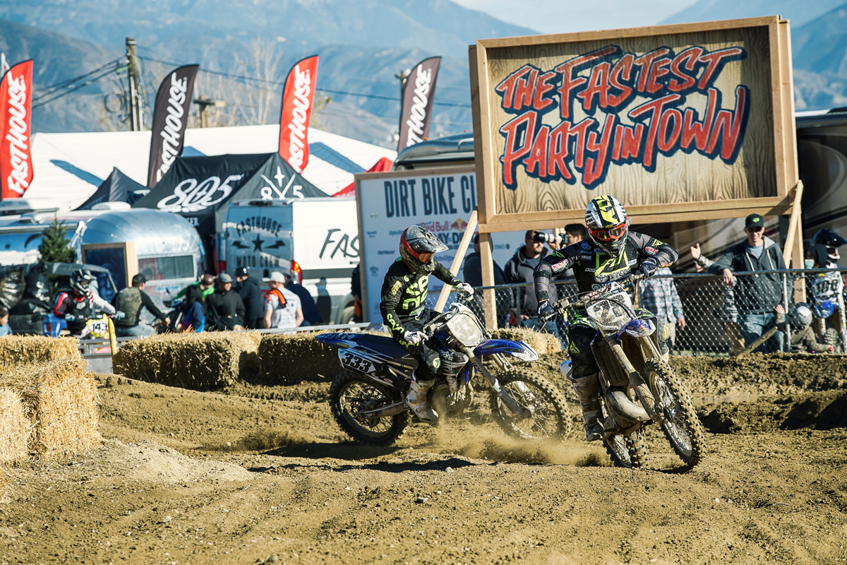 Weston Peick leading the way.