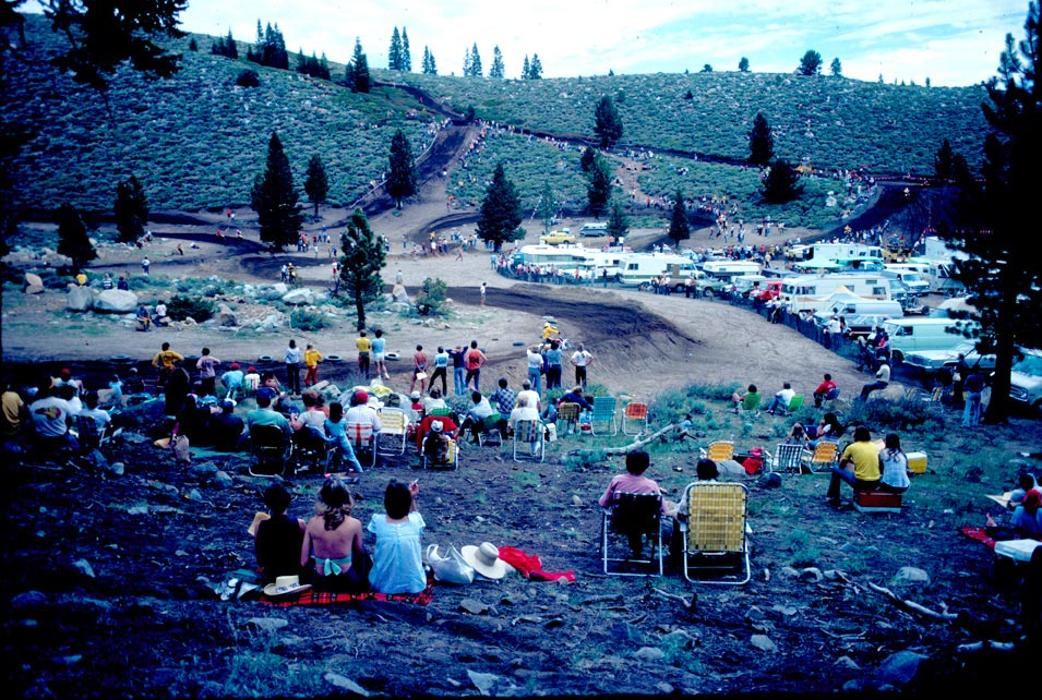 Mammoth Mountain Motocross as it was back When Rules Were Few.