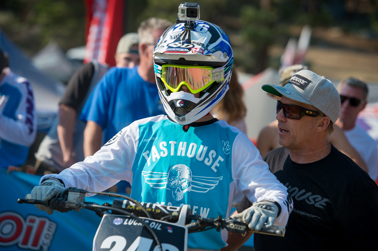 Lil' Will Simons will be racing, and will likely be up front in the B classes.