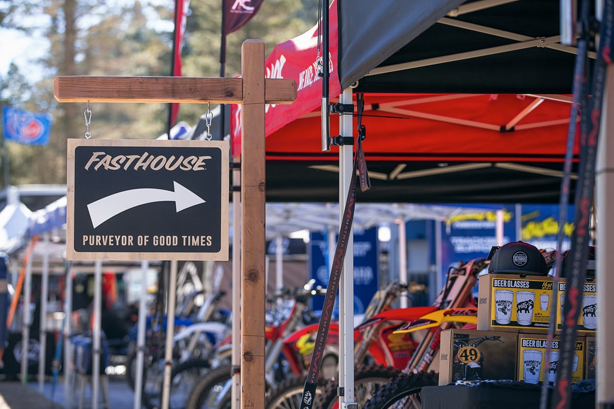 If you're in Mammoth, stop by the booth and say hi.