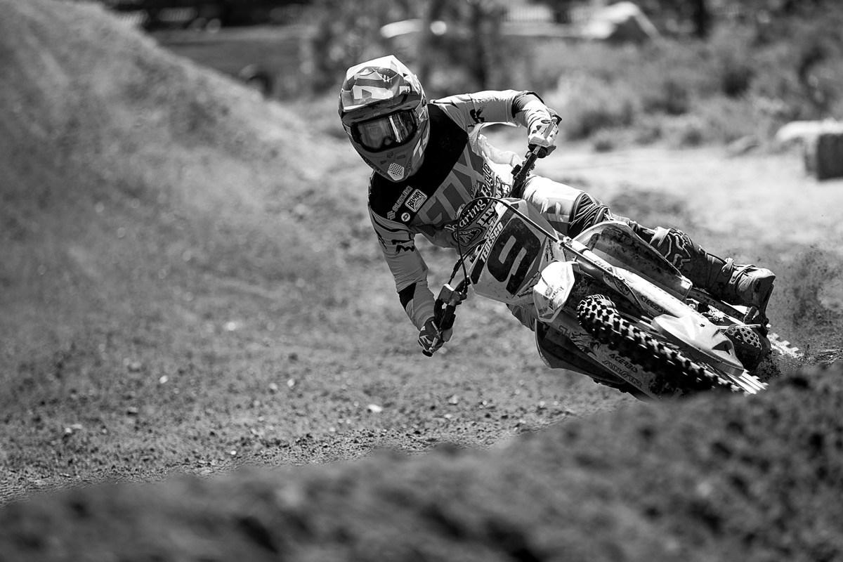 Ivan Tedesco took the second moto win on Saturday.
