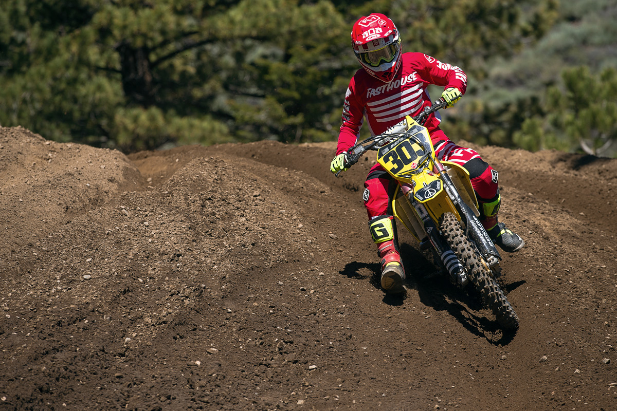 Terry Cook turned in some good rides, but also went down hard in his final moto.