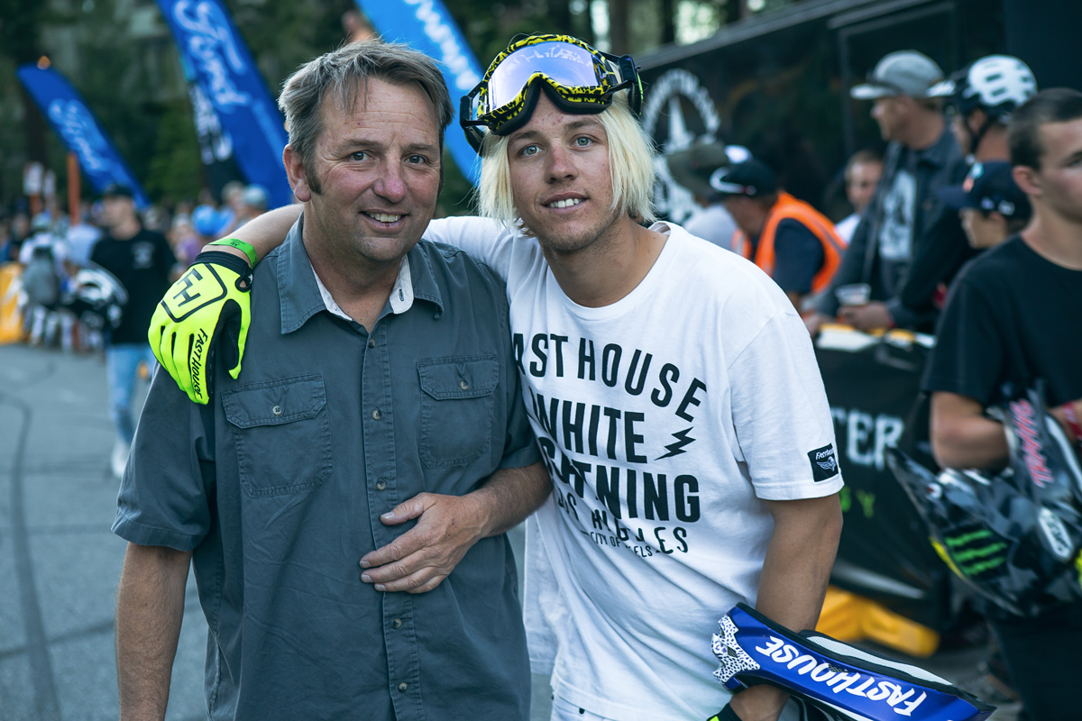 The man behind Mammoth Motocross Mike Colbert and Bereman.