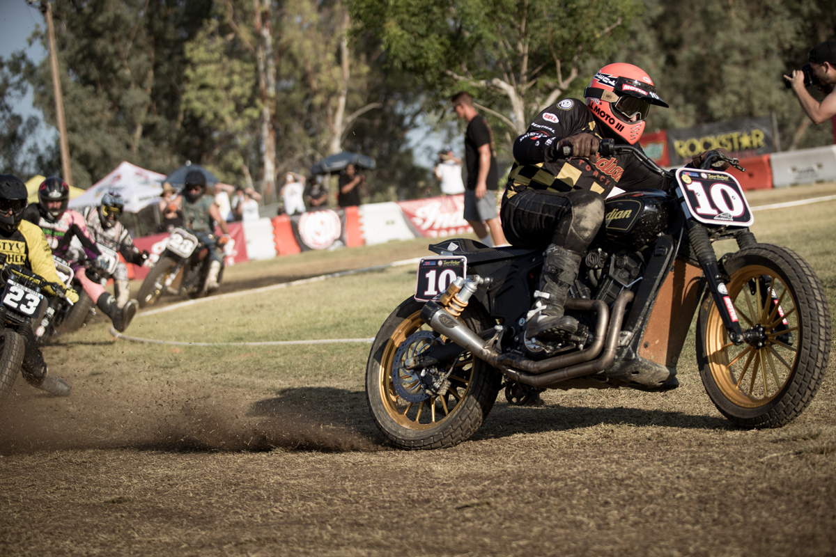 Roland Sands has style on and off the bike.