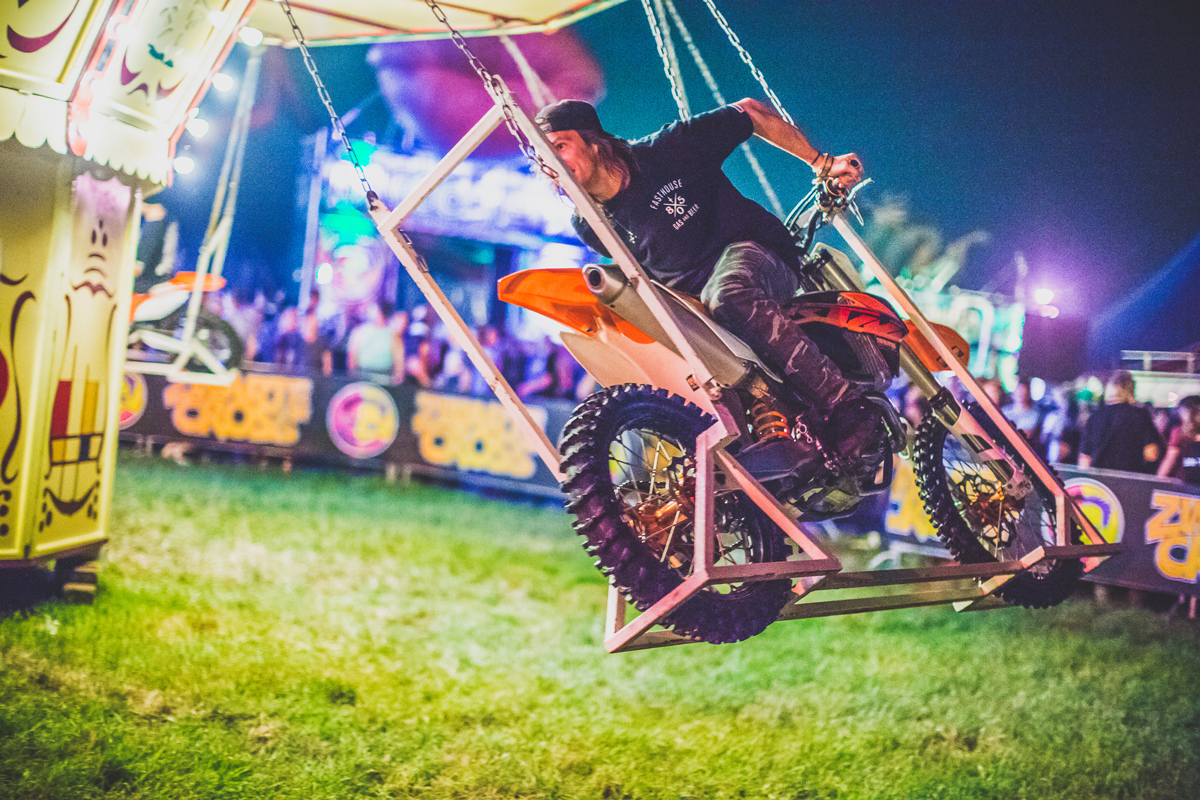 The rides at ZwarteCross are interesting, to say the least.