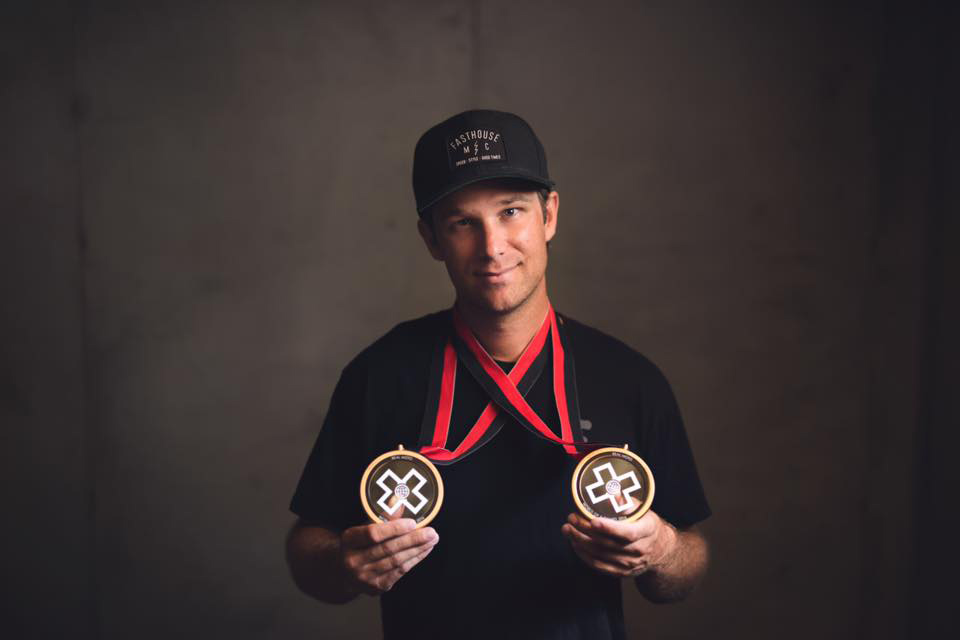 Steve Haughelstine took home two gold medals for his amazing X Games Real Moto video.
