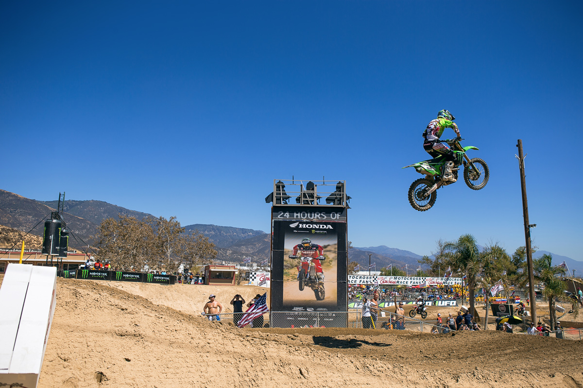 Eli Tomac put on a riding clinic, taking both moto wins with ease.