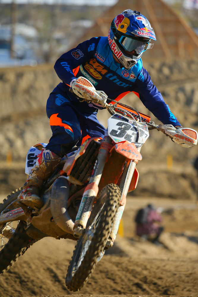 Taylor Robert took the win at last year's FMF Two-Stroke Revival race.
