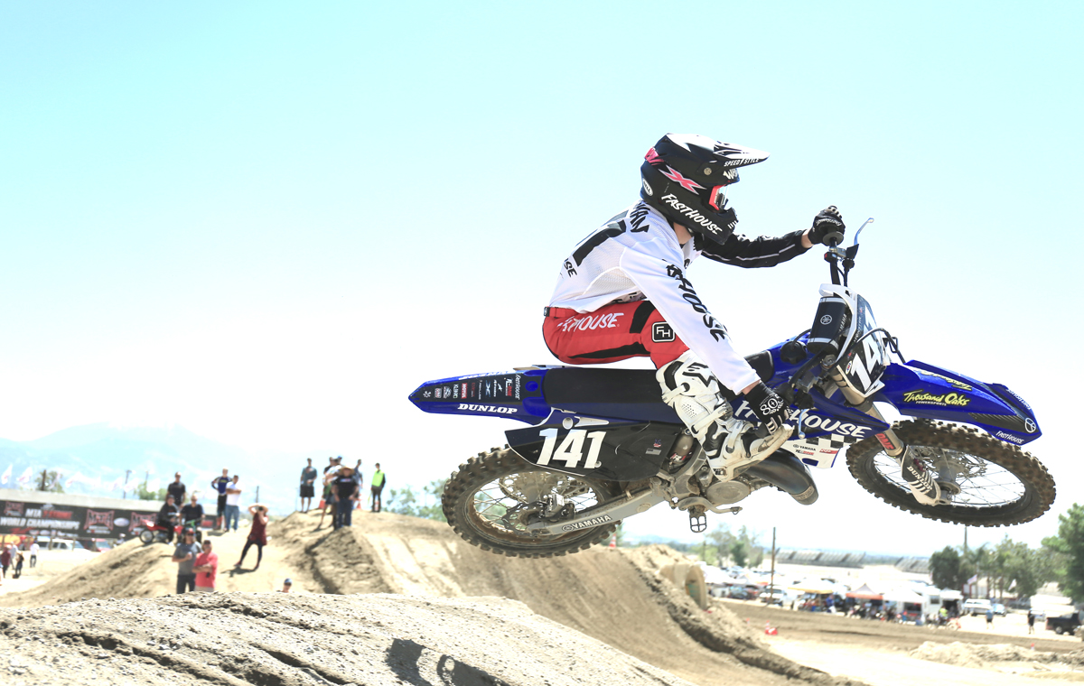 Robbie Wageman took the 125 Pro Class win, going 1-1. (Photo: Will Luna)