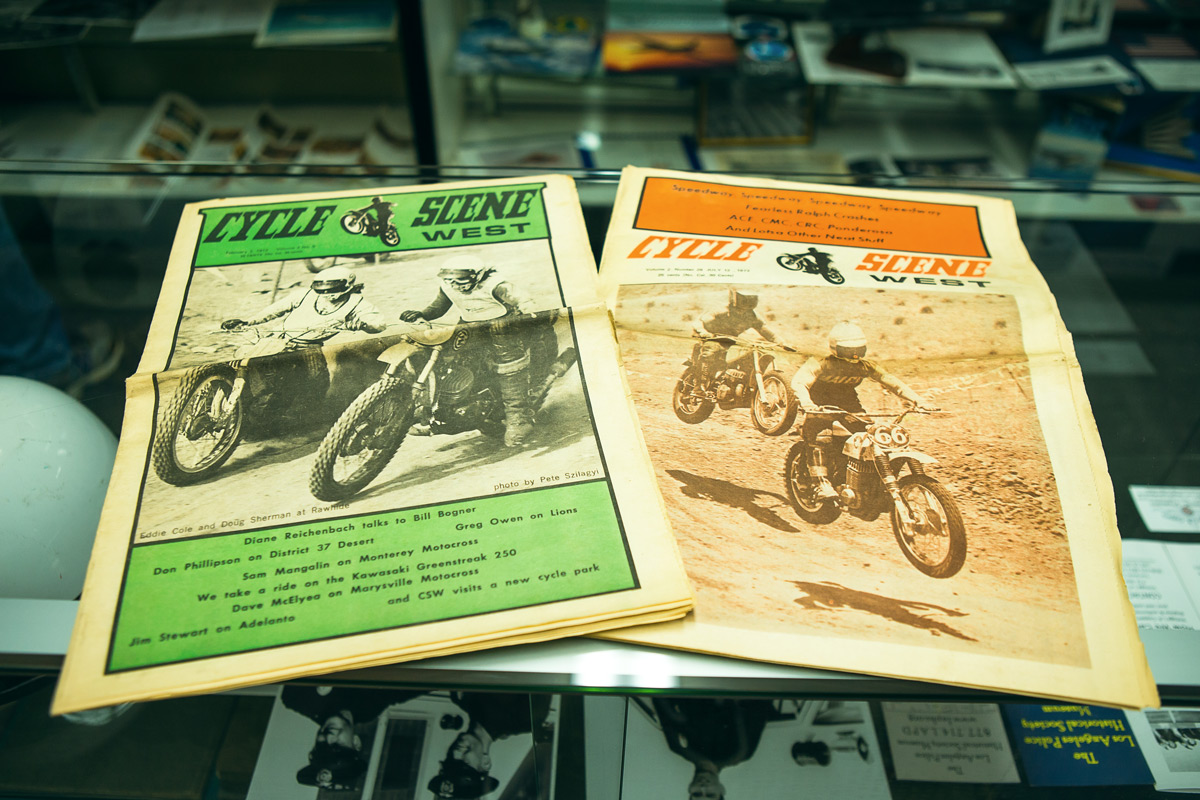 Cycle Scene was an old newspaper that Ernie Alexander put out on a weekly basis.