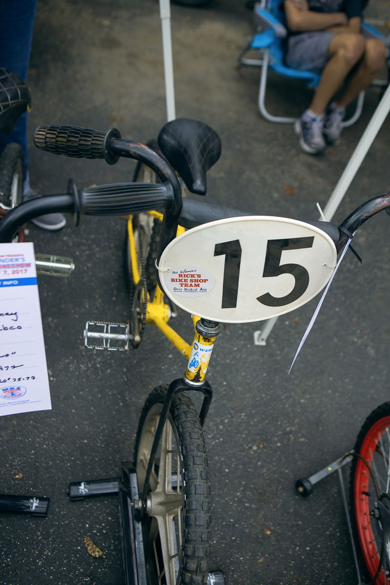 An infamous Rick's Bike Shop bicycle from back in the day. This team was bad ass.