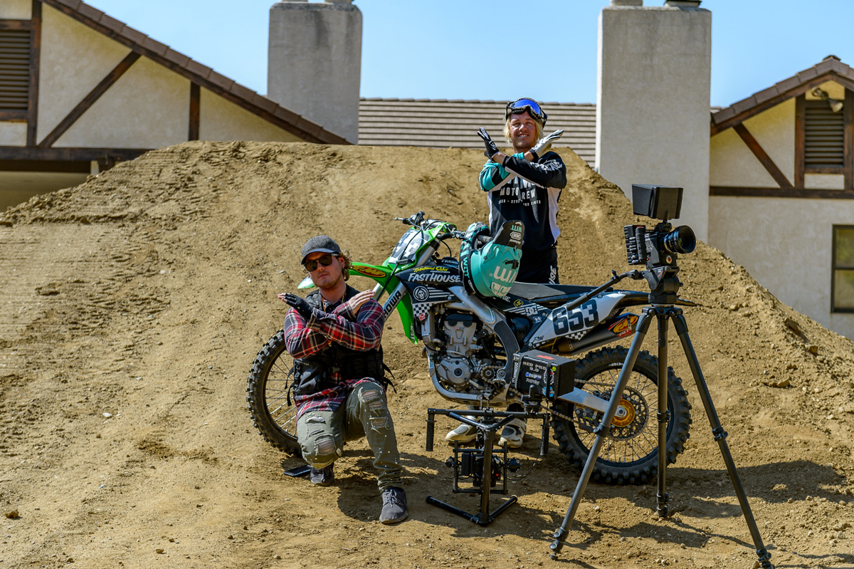 Bereman worked alongside his good friend and filmer Ryan Walters to create the Real Moto edit.
