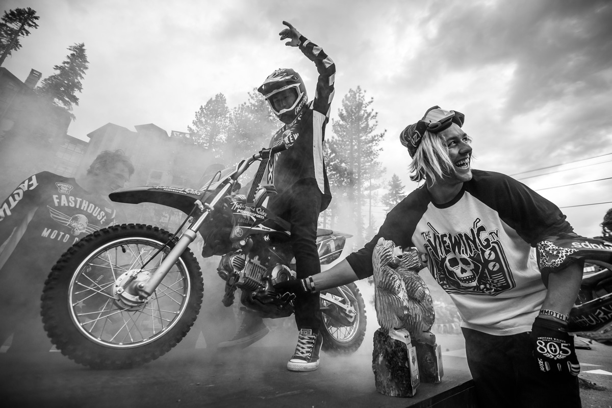 New gear was launched and good times were had at the Mammoth Motocross.