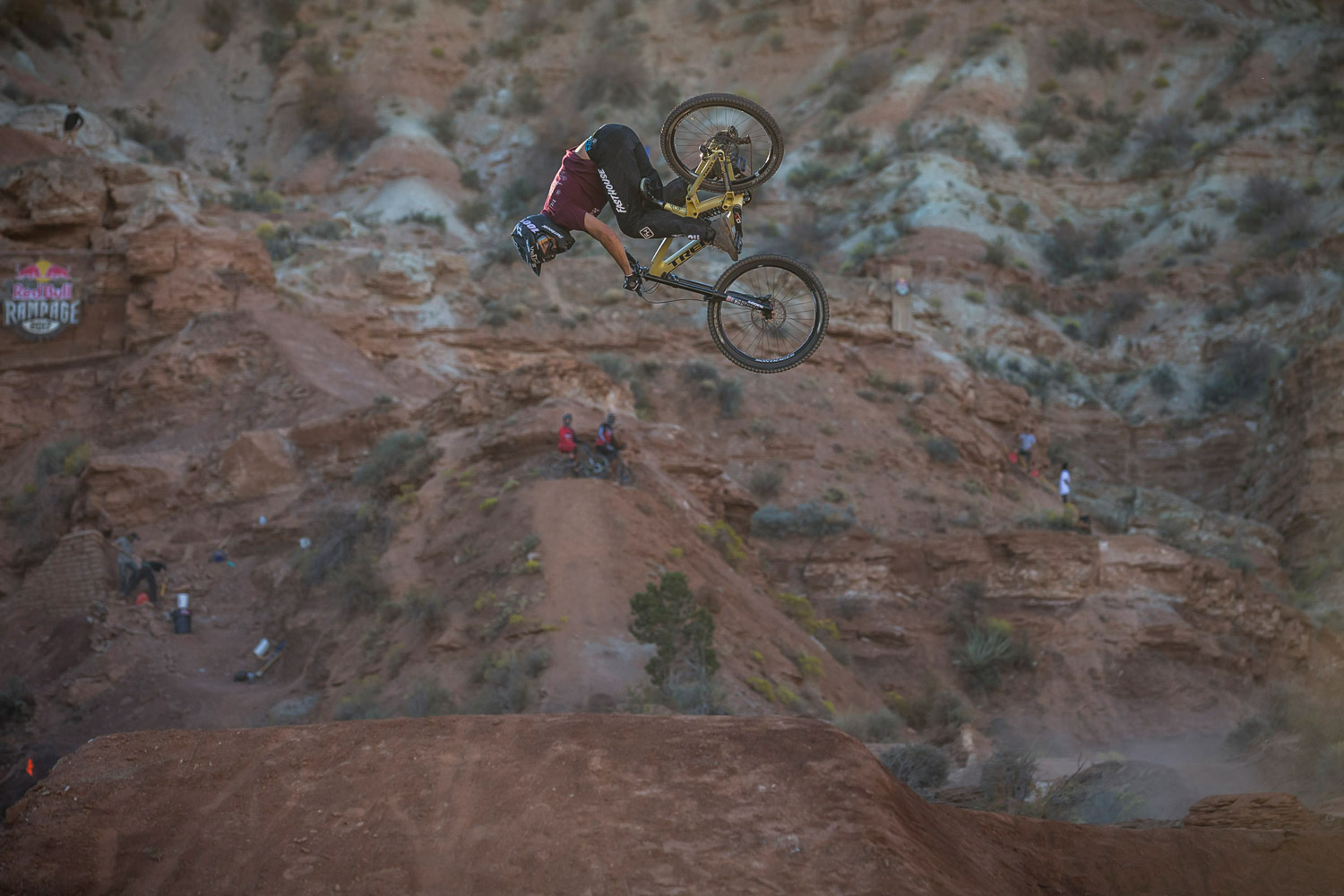 R-Dog at this year's Red Bull Rampage.
