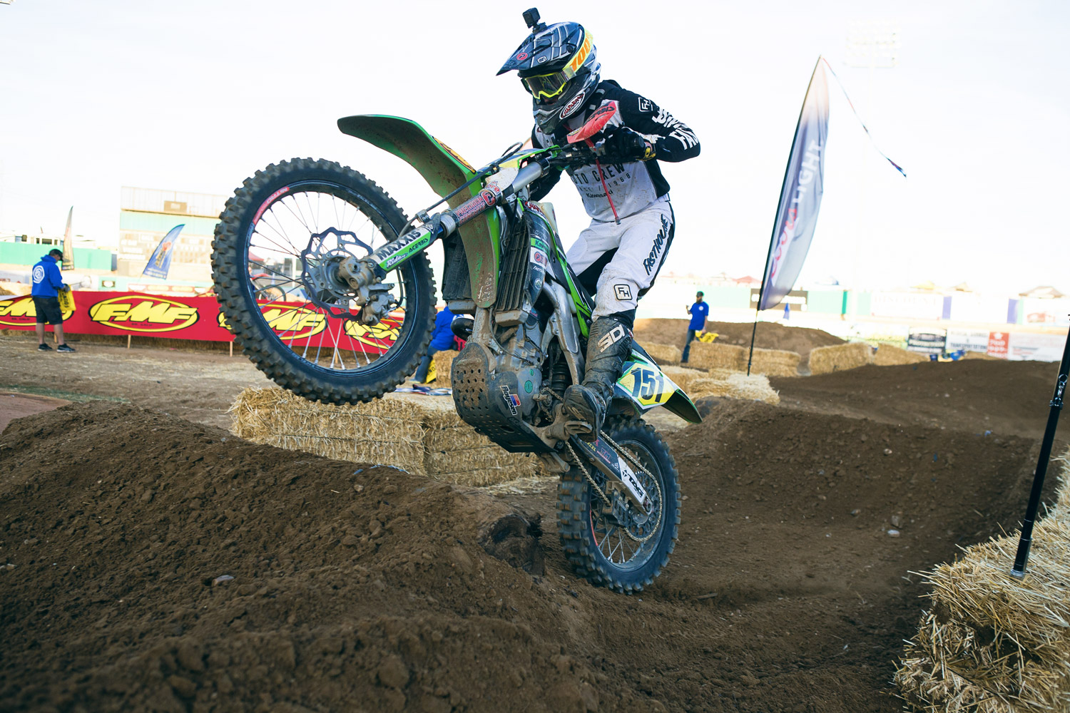 Youngster Clay Hengeveld took the Pro II win.