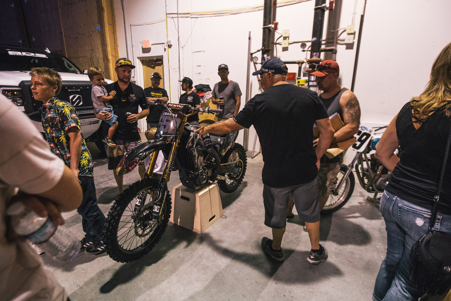 Bereman's X Games bikes was on hand before heading back east for the event.