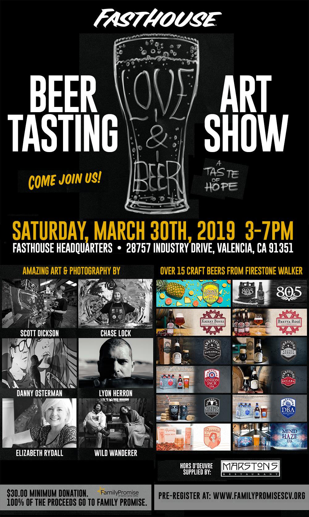 Beer Tasting & Art Show